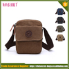 New Design canvas and leather retro shoulder bag wholesale