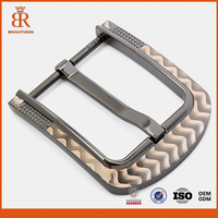 Pin buckle for men belt belt buckle manufacturers customized logo pin belt buckles