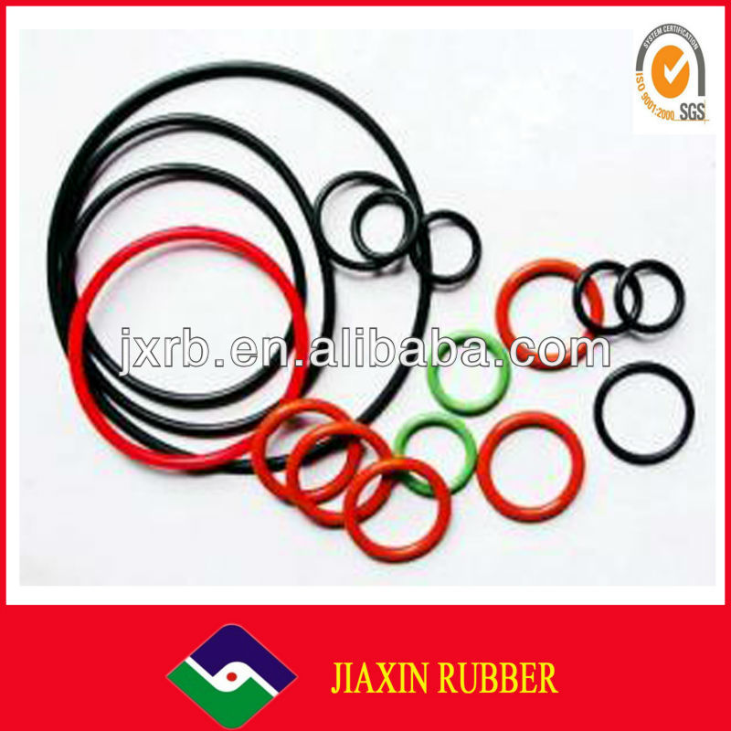 Mechanical Parts Rubber Products professional customized silicone washer
