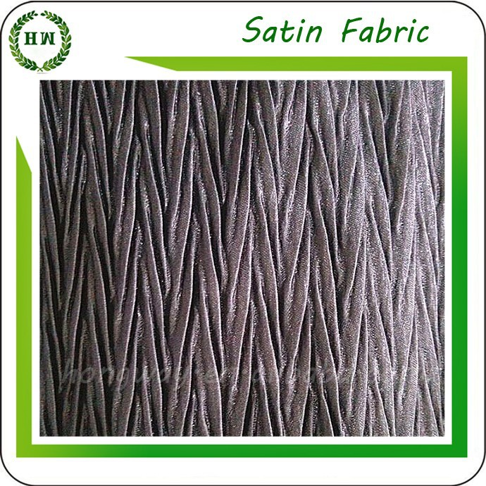 Hongway different types of satin fabric crepe printing satin