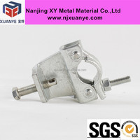EN74 scaffolding forged girder coupler clamp BS1139 fixed scaffold beam clamp