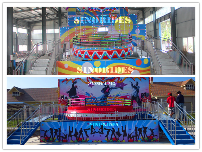 Teenagers Love! Amusement Rides Disco Tagada For Park