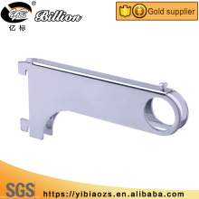 Alibaba supply Chi square Round pipe tube support tube mounting Channel brackets for clothes hanging