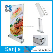 A3 Table Roll Up Stand A3 Mini Roll Up Banner PP Paper Roll Up Stand