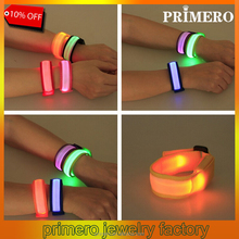 PRIMERO Flash LED lighting man and women bracelet wrist band party decoration Cartoon flash Concerts glow in dark bracelet