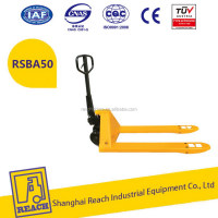 Factory supply heavy duty manual 2500kg hand pallet trucks