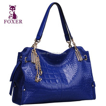2014 latest design famous brand genuine lady leather handbag mature women tote bag
