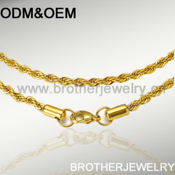 Different Types Of Gold Necklace Chains Jewelry Designs, Stainless Steel 14 Karat Gold Necklace