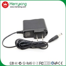 FCC/UL/ETL/FDA/DLC/CSA/Energy Star/IC certified adapter dc us 8v 500ma 9v 600ma ac dc adapter