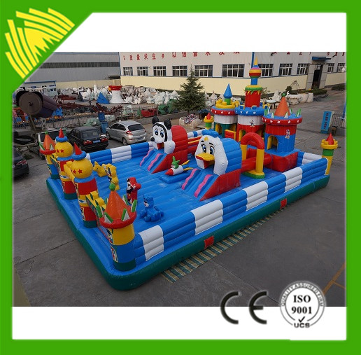 High Quality 0.55mmPVC Adult Inflatable Bouncer House Slide For Sale(Low Price)