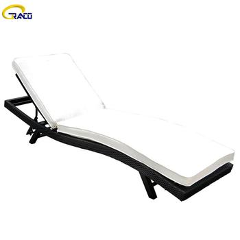 Good price outdoor garden sunbed daybed