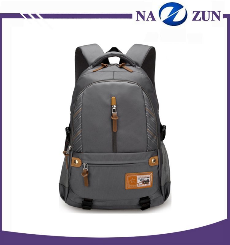 China supplier middle school student bag big capacity fabric for backpack