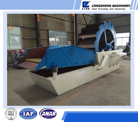 Industrial sand washing and recycling equipment, new type sand washing machine for sell