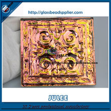 Decorative Wall Mirrors customized antique mirror glass tiles interior decoration