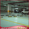 Caboli industrial floor painting for supermarker garage