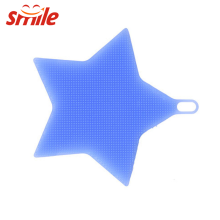Wholesale Five Star Shaped Customize Supper Soft Deep Silicone Cleaning Brush