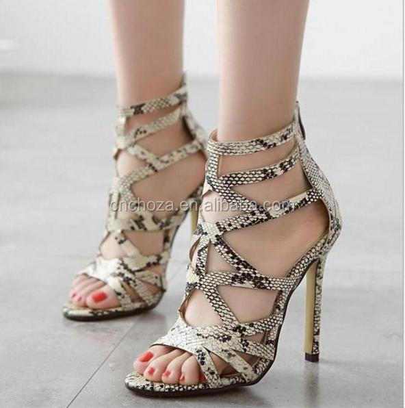 Z56479B new fashion fancy latest design model summer high heel woman wedge sandals
