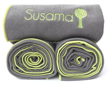 Factory Custom Quick-dry Eco-friendly Microfiber Non-slip Yoga Towel/Sports Towel