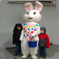 Hola bunny mascot costume for sale/cute rabbit mascot costume