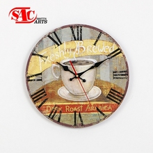 Decoration Art colorful Painting Diy 3d Wall Clock
