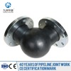 HuaYuan the lowest discount price flange type flexible rubber bend with high quality supplier
