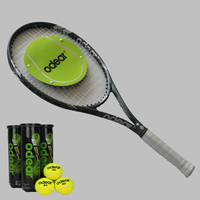 High performance real carbon fiber accept buyer request tennis racket