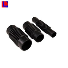 VITON/NBR/EPDM/CSM/NR Material custom automative rubber bellows dust boot
