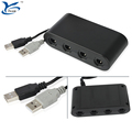 4 port GameCube Controller Adapter for Wii U & PC nintendo switch