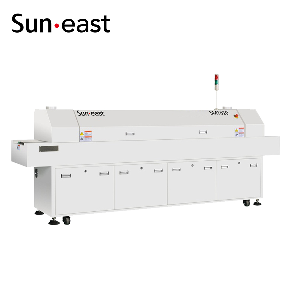 Hot air Lead free Reflow Oven / LED Reflow Solder / SMT Machine
