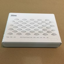 New Version 5.0 Original ZTE ZXA10 F460 GEPON ONU 4LAN+2VOICE POTS+WIFI+USB English Firmware and SIP FTTH Fiber Optical ONT