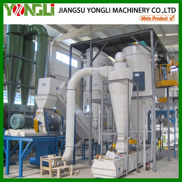 China factory CE and ISO pellet wood mill production line