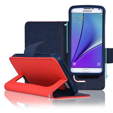 C&T Leather Universal Wallet Cell Phone Cases For Samsung Galaxy Note 7