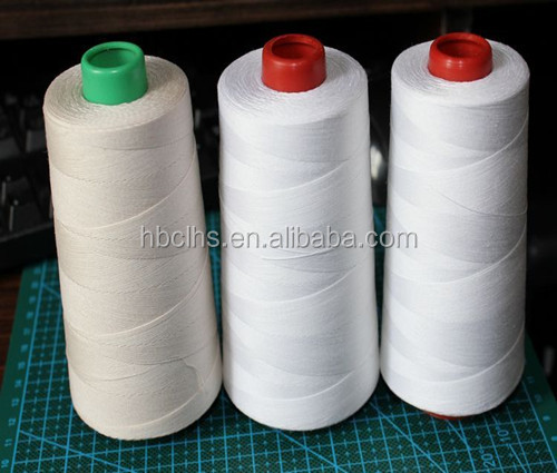 40/2 4000 meter polyester sewing thread used in long arm sewing machine