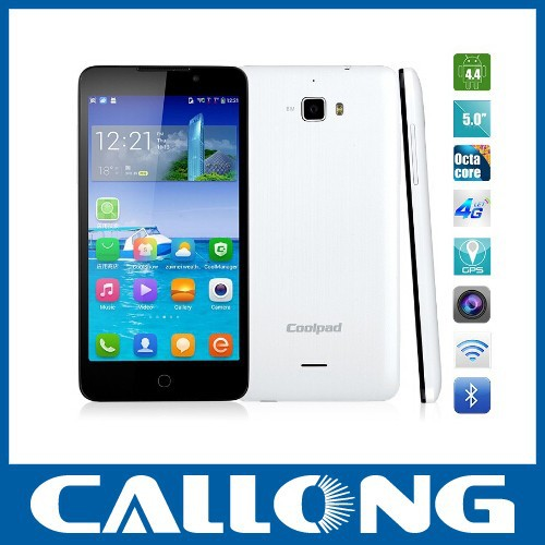 Stock Coolpad F1 8297W mobile phone MTK6592 Octa Core cellphone Android Smartphone 5'' HD IPS 13MP Mobile WCDMA 2500mAh