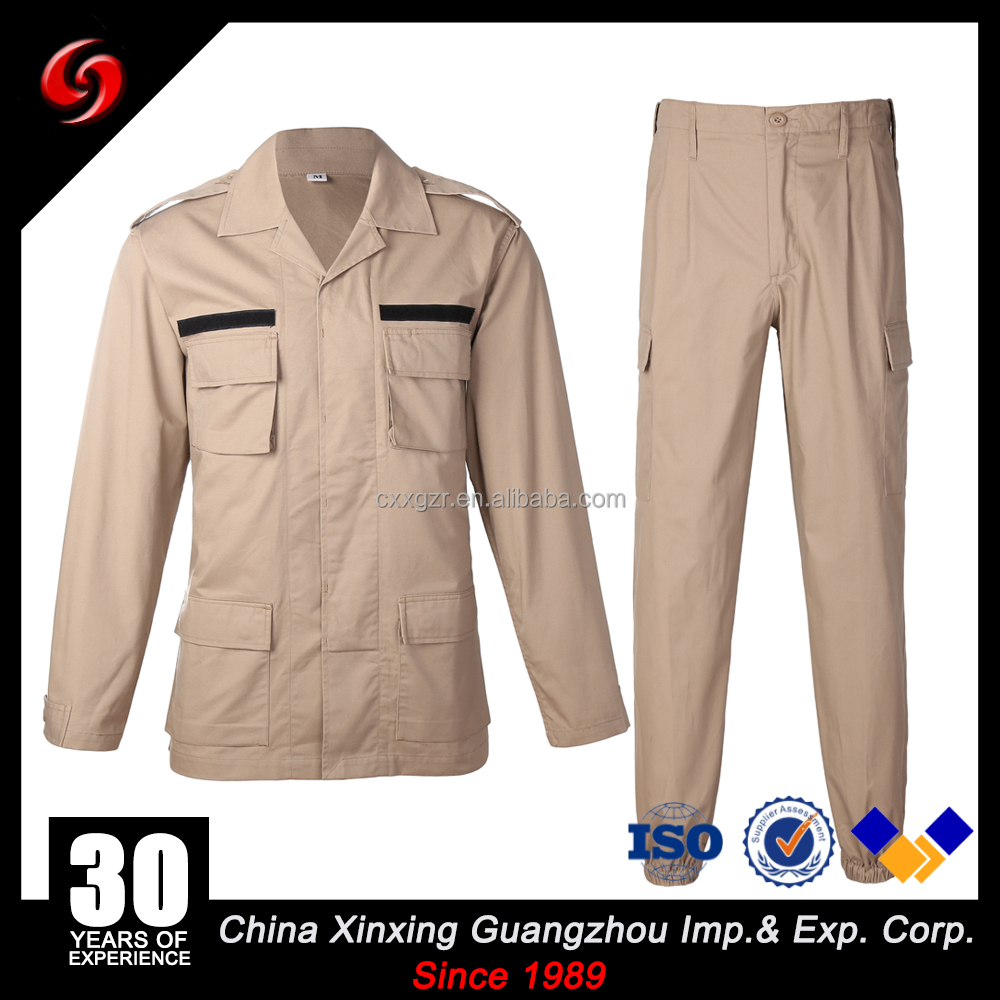 Military Special Force Army Tactical Combat BDU Uniform Pants Khaki in stock 8000sets