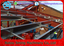 Fully Automatic Infinitely Adjustable Web Length C Purlin Cold Roll Forming Machine