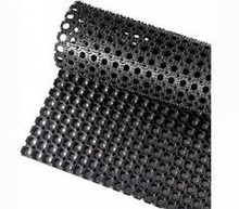 The anti slip anti-fatigue rubber sheet with hose