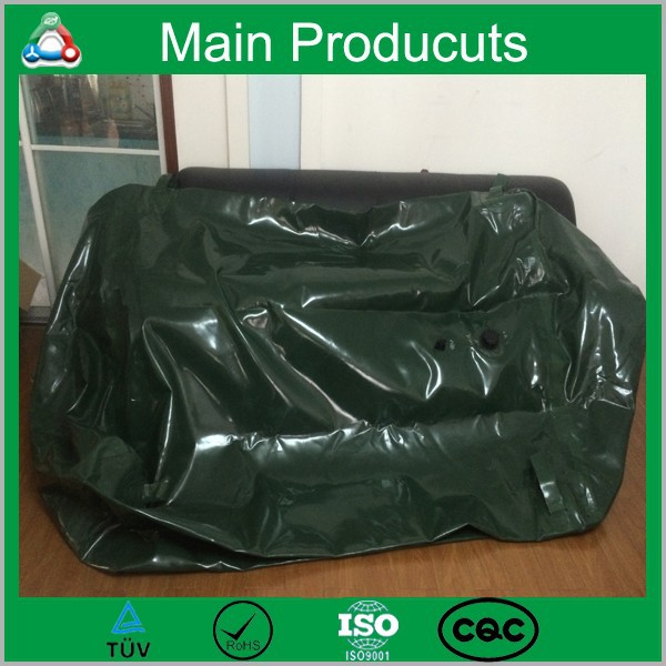 100L 1000L 10000L Durable Timeproof UV Resistant Water Bladder Soft Potable Folding Water Storage Tank In India With Best Price