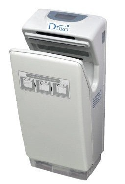 DURO Hygiene Super Fastflow Jet High Speed Hand Dryer