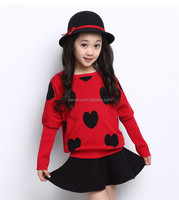 long sleeve new fashion kids girl clothes