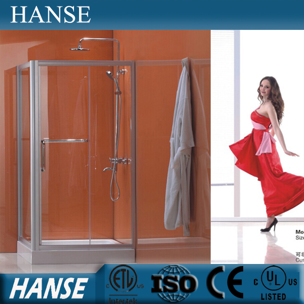Morden shower enclosure,factory cheap sliding glass bathroom shower