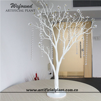 PE artificial white manzanita tree weddings decoration centerpiece