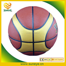 Standard Leather Material Laminated Basketball Size 7