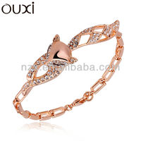 OUXI 2016 changeable bangle 18k gold plated bangle 30246