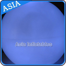 Big Blue Inflatable Lighting Balloon, Inflatable LED Ball