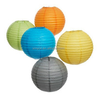 Wholesale cheap round ball paper lantern paypal