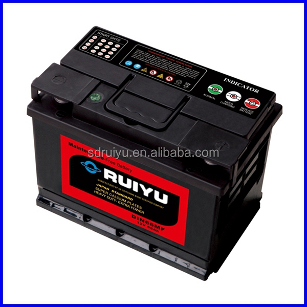 DIN72 korean brand cars 12v battery for autos/cars/automobiles/motors/vehicles