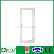 Australia standard double glazing french thermal break aluminum casement door with fly screen