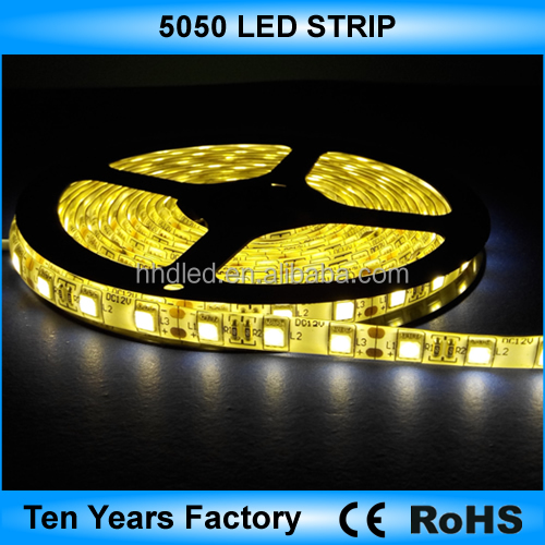 High quality 12v 24v 5050 flexible smd led strip