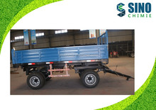 Agricultural machinery 0.5-12 Ton 4 Wheel Dump Tipping FARM TRACTOR TRAILER